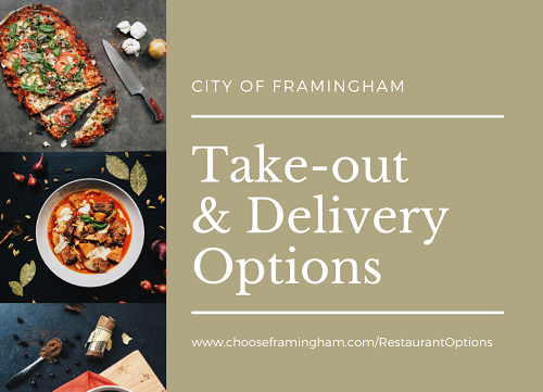 Takeout delivery options small