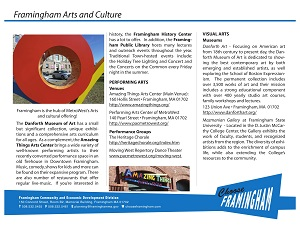 image of a Fact Sheet on the Arts and Culture in Framingham