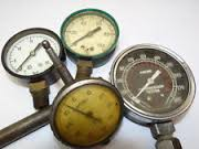 image of pressure gauges