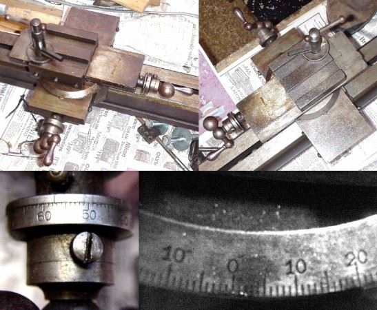 Collage of old metal measuring tools