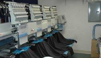 images of custom stitching machines for apparel embroidery