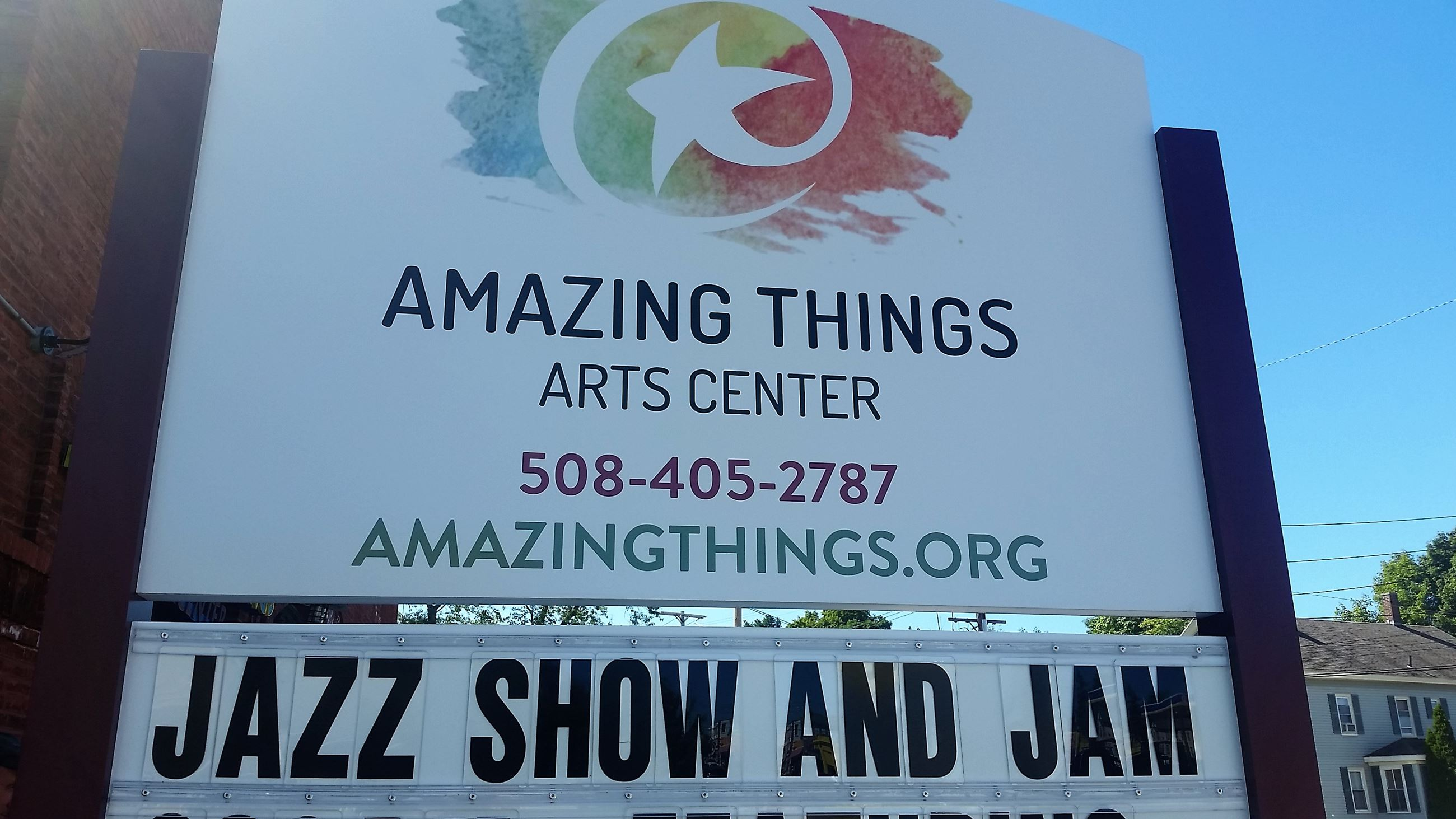 Amazing Things - new sign 2016