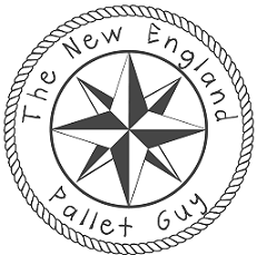 the new england pallet guy logo